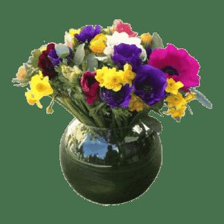 זר פרחי חורף
